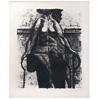 ARMANDO MORALES, Sin título, Firmada y fechada 1977 Litografía 58 / 77, 73 x 61 cm | ARMANDO MORALES, Untitled, Signed and dated 1977 Lithography 58 /