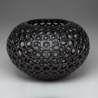 Pierce Black Ceramic Orb