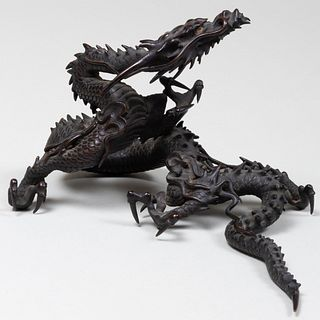 Japanese Bronze Dragon