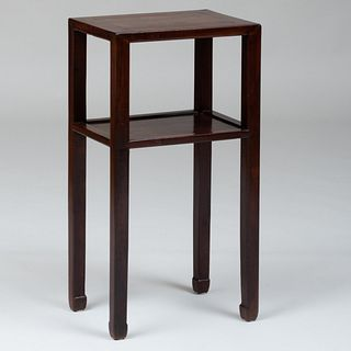 Chinese Huanghuali Pedestal Table