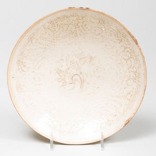 Chinese Molded Dingyao Dish