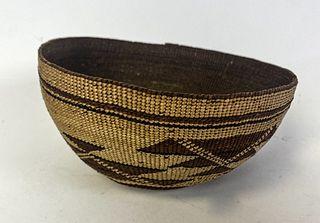 Hupa Yurok Basket Hat