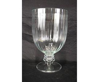 OVERSIZED GLASS VASE