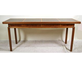 MID-CENTURY CONVERTIBLE CONSOLE TABLE