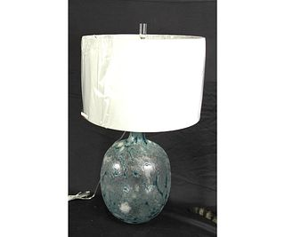 PAIR OF TALULAH BLOWN GLASS LAMPS
