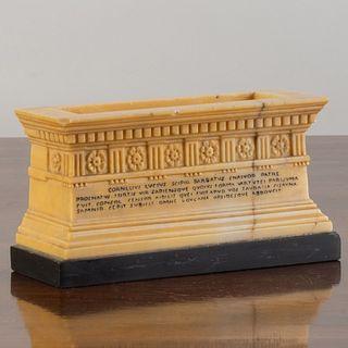 Small Roman Marble Model of Scipio's Tomb