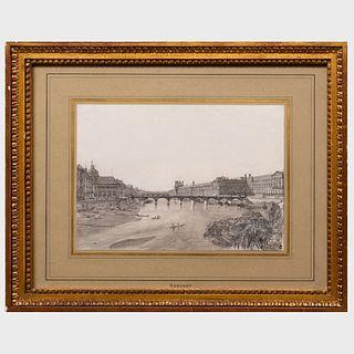 Lucien-Pierre Sergent (1849-1904): View of Paris