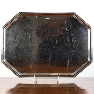 George V Silver Tray
