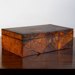 Parquetry and Ebonized Table Box