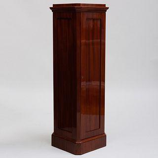 Swedish Neoclassical Mahogany Pedestal Cabinet