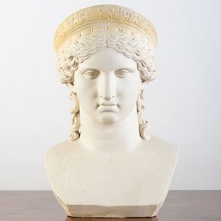 Greek Parian Bust of Hera, After the Antique