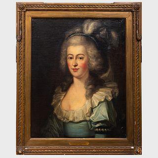 After Giovanni Battista Lampi (1751-1830): Portrait of a Lady