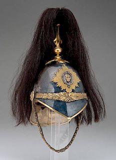 British Victorian the Royal Dragoons 1871 Pattern Officer's Helmet