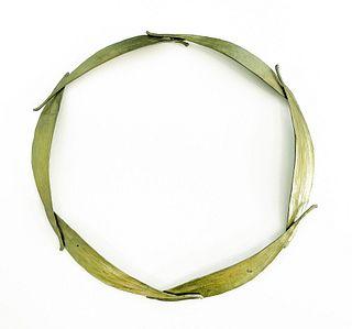 UNKNOWN ARTIST, Bronze Leaf Necklace