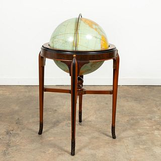 RAND MCNALLY & CO. TERRESTRIAL GLOBE ON STAND