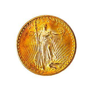 U.S. 1927 $20.00 GOLD COIN