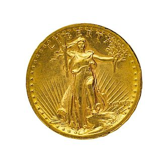 U.S. 1907 $20.00 HIGH RELIEF GOLD COIN