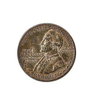 HAWAII 1928 COMMEMORATIVE 50C. COINS