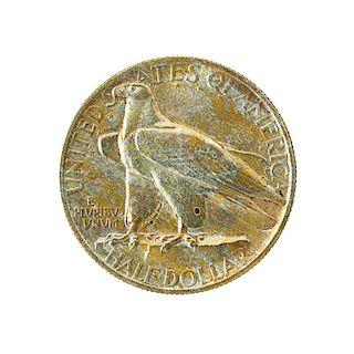 U.S. 1935 CONNECTICUT COMMEMORATIVE 50C. COIN