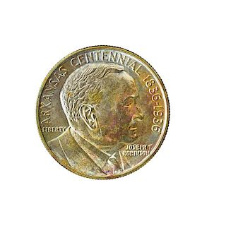 U.S. 1936 ARKANSAS COMMEMORATIVE 50C. COIN