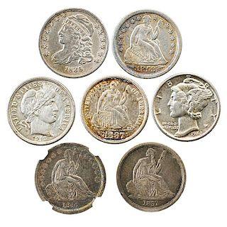 U.S. 10C. COINS