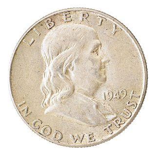 U.S. FRANKLIN 50C., MERCURY 10C., ETC.