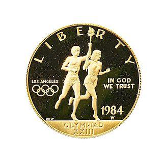 U.S. 1984 OLYMPIC PROOF SET