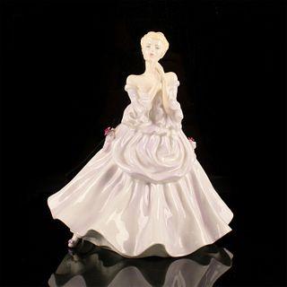 The Lavender Gown - Coalport Porcelain Figurine