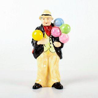 Balloon Man - Coalport Porcelain Figurine