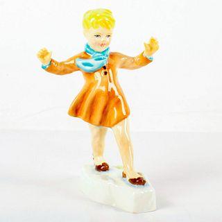 Royal Worcester Figurine, The Slide