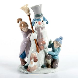 The Snow Man 1005713 - Lladro Porcelain Figurine