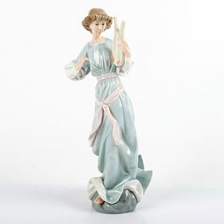 Angel with Lyre 1001321 - Lladro Porcelain Figurine