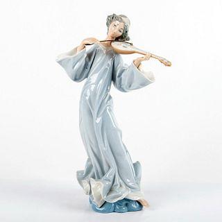 Angel with Mandolin 1001324 - Lladro Porcelain Figurine