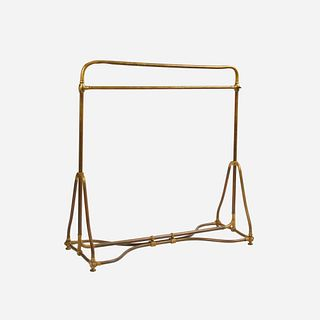 French Art Nouveau Period Clothing Rack