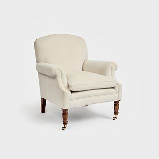"""George Smith """"Dahl"""" Chair with Seat Cushion"""