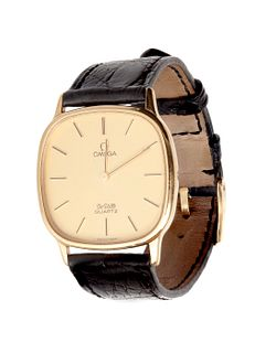 OMEGA watch from the De Ville - Quartz collection, one of Omega's most classic and elegant collections.