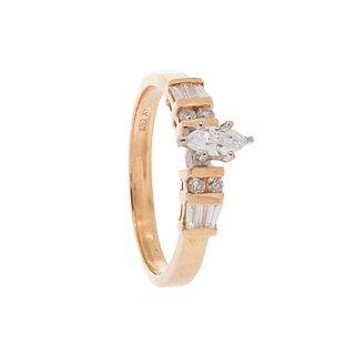 Ring made in 18kt yellow gold,