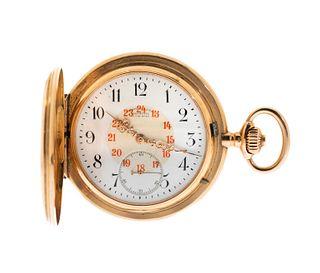 UNION GLASHÜTTE watch, n. 753XX, year 1900.