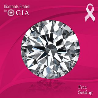 3.01 ct, G/VVS1, Round cut GIA Graded Diamond. Appraised Value: $186,600