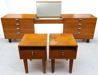 GEORGE NELSON PRIMAVERA DRESSING TABLE STANDS, CHESTS