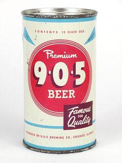 1960 9*0*5 Premium Beer 12oz Flat Top Can 103-19.2
