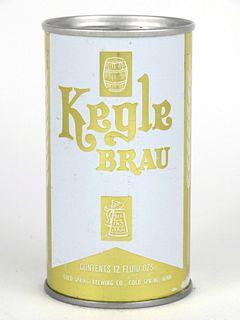 1977 Kegle Brau Beer (test) 12oz Tab Top Can No Ref.