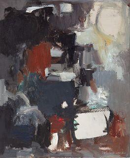 """SUSI LIZONDO (Valencia, 1962).  """"Composition"""", 2014.  Oil on canvas."""