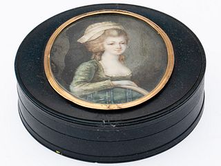 John Francis Vallee, Box with Miniature, 1785