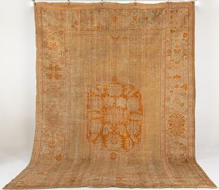 Oushak Turkish Carpet, Late 19th/Early 20th C