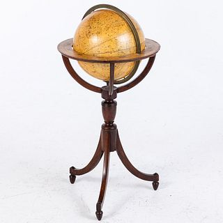 Cary's New Celestial Globe on Stand, C. 1800