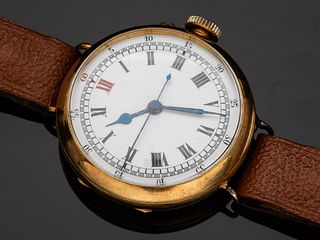 Stauffer, Son & Co. 18K Gold Watch