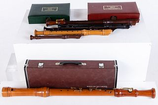 Group of 6 Recorders