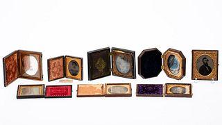 Group of 8 Daguerreotypes