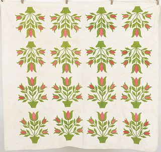 American Floral Quilt